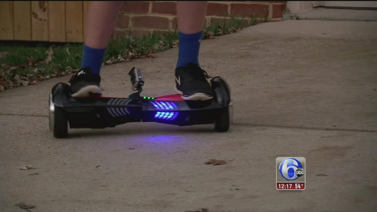 VIDEO: Family says Hoverboard exploded, caught fire in home