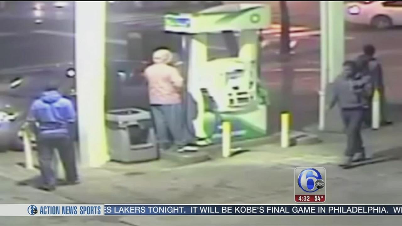 VIDEO: Violent carjacking at Philadelphia gas station