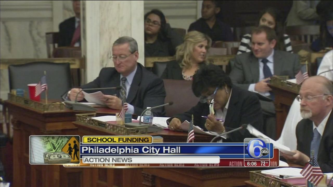 VIDEO: Philly City Council approves $120M for schools