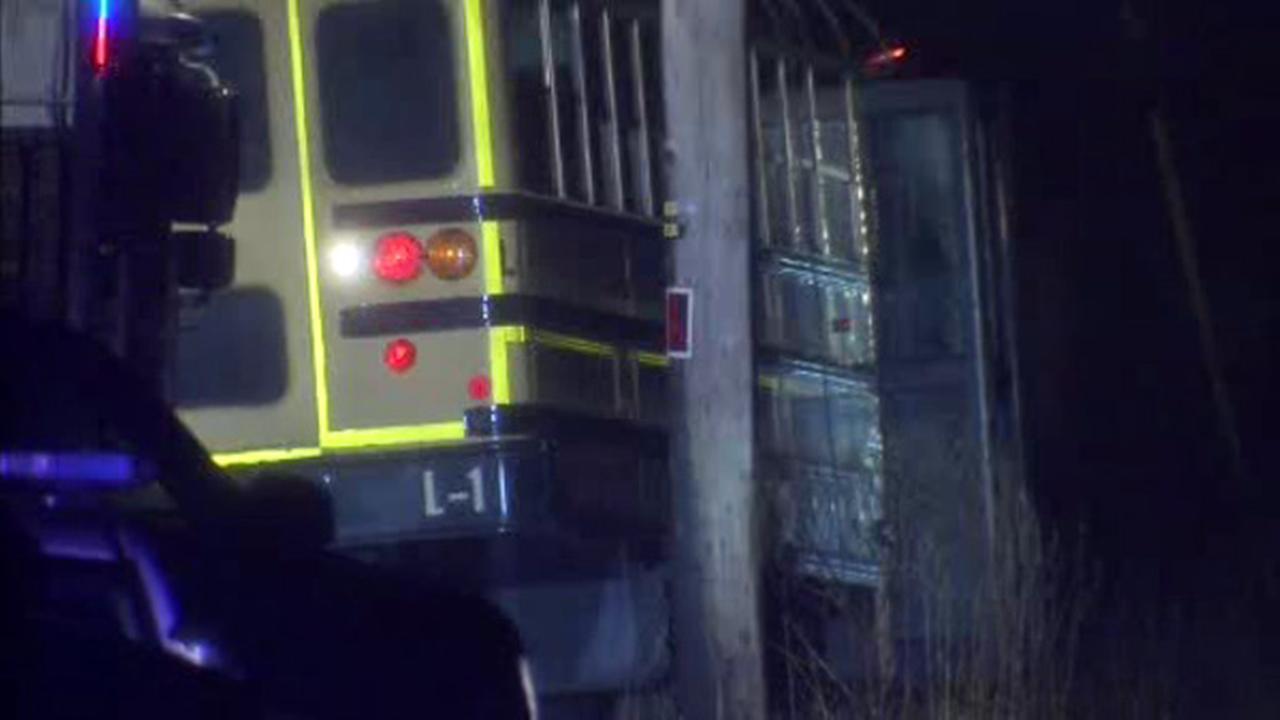 2 dead, 9 injured in Burlington County school bus crash
