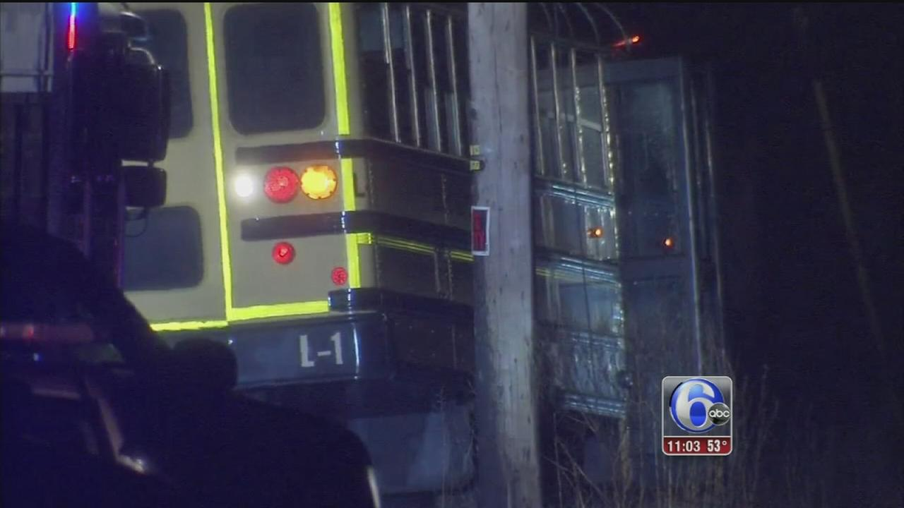 VIDEO: 2 dead in Burlington County bus crash