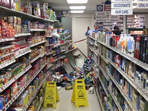 <div class='meta'><div class='origin-logo' data-origin='none'></div><span class='caption-text' data-credit=''>A pickup truck crashed into a pharmacy in Claymont, Delaware.</span></div>
