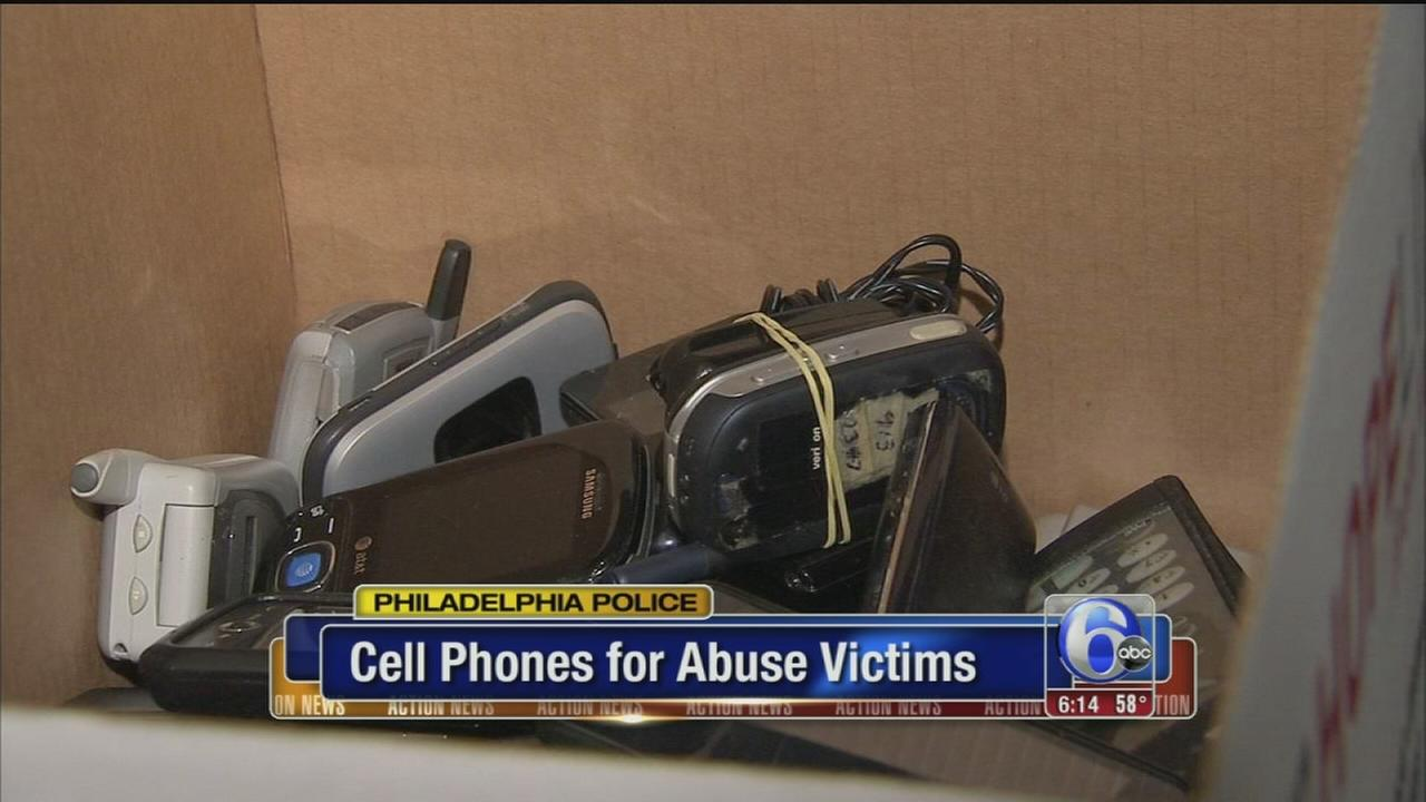 VIDEO: Cell phones for abuse victims