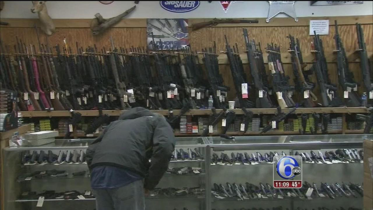 VIDEO: Inceased gun sales