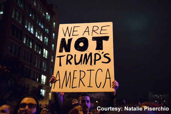 <div class='meta'><div class='origin-logo' data-origin='none'></div><span class='caption-text' data-credit='Natalie Piserchio'>Images of the Anti-Trump protest in Philadelphia.</span></div>