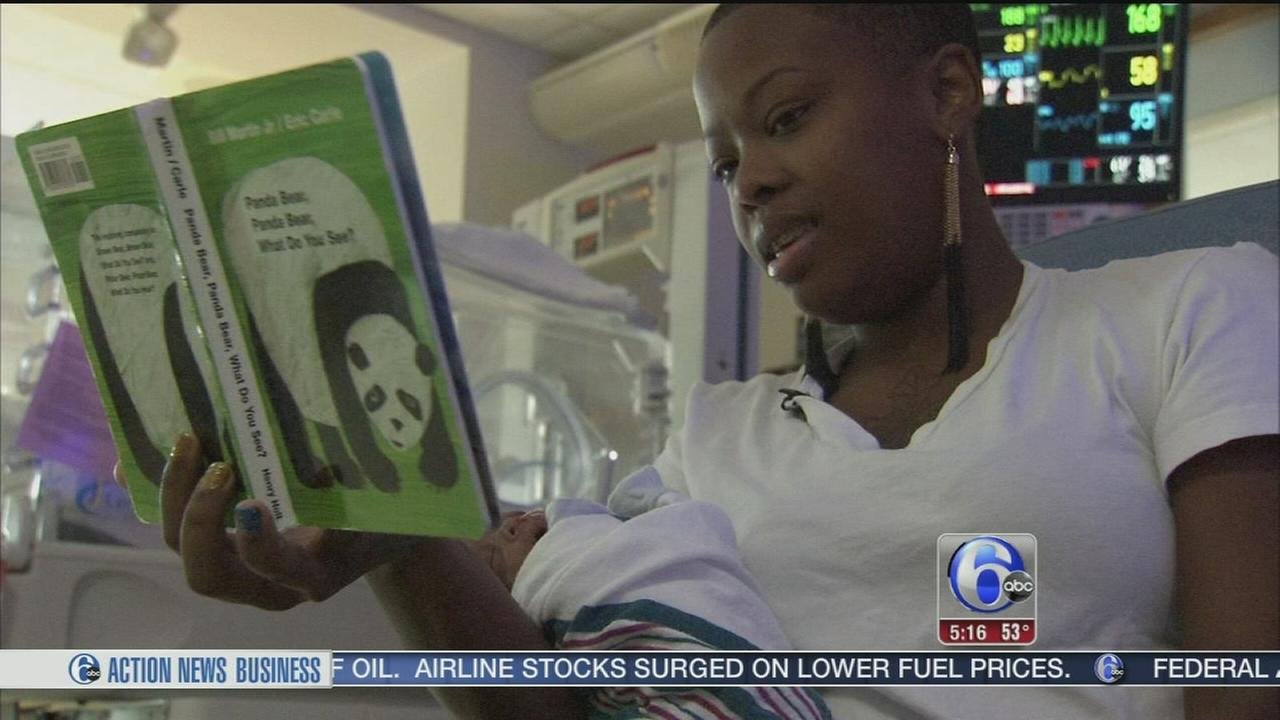 VIDEO: New program helps premature babies develop reading skills