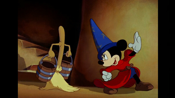 <div class='meta'><div class='origin-logo' data-origin='none'></div><span class='caption-text' data-credit='Disney'>Apprentice Mickey in Sorcerer's Apprentice from Disney's Fantasia</span></div>