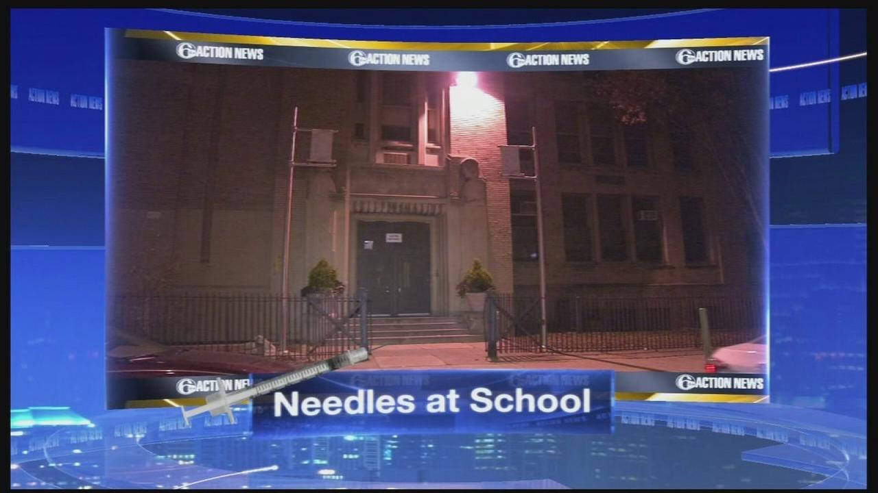 VIDEO: Needles at elementary school