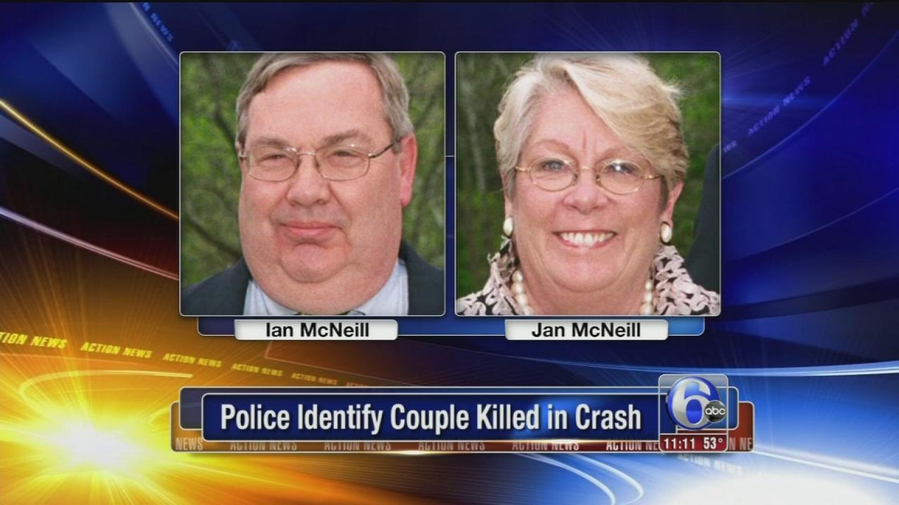 VIDEO: Police ID couple killed in crash