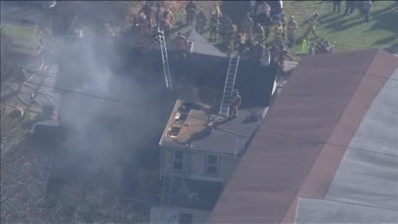 2 families displaced by 3-alarm Coatesville fire