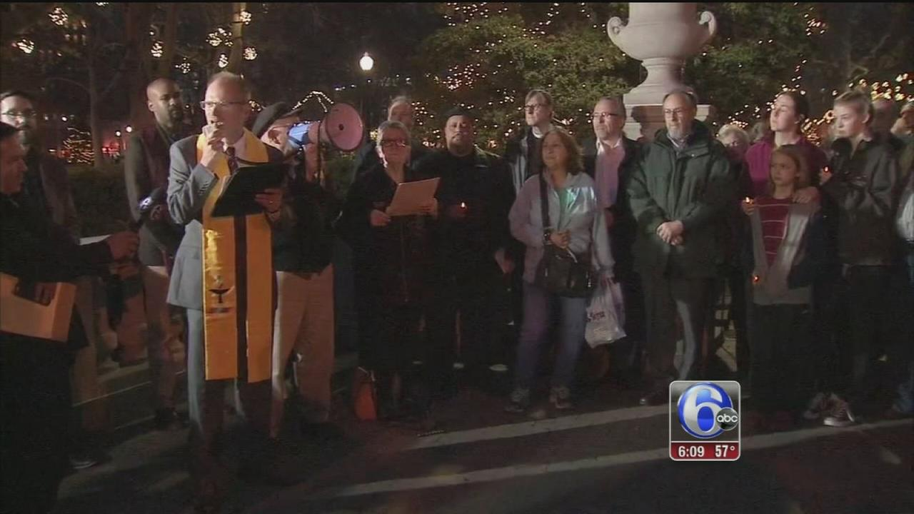 VIDEO: Vigil of solidarity in face of religious extremism