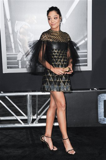 <div class='meta'><div class='origin-logo' data-origin='none'></div><span class='caption-text' data-credit='Richard Shotwell/Invision/AP'>Actress Tessa Thompson attends the LA Premiere of &#34;Creed&#34; held at the Regency Village Theater on Thursday, Nov. 19, 2015, in Los Angeles. (Photo by Richard Shotwell/Invision/AP)</span></div>
