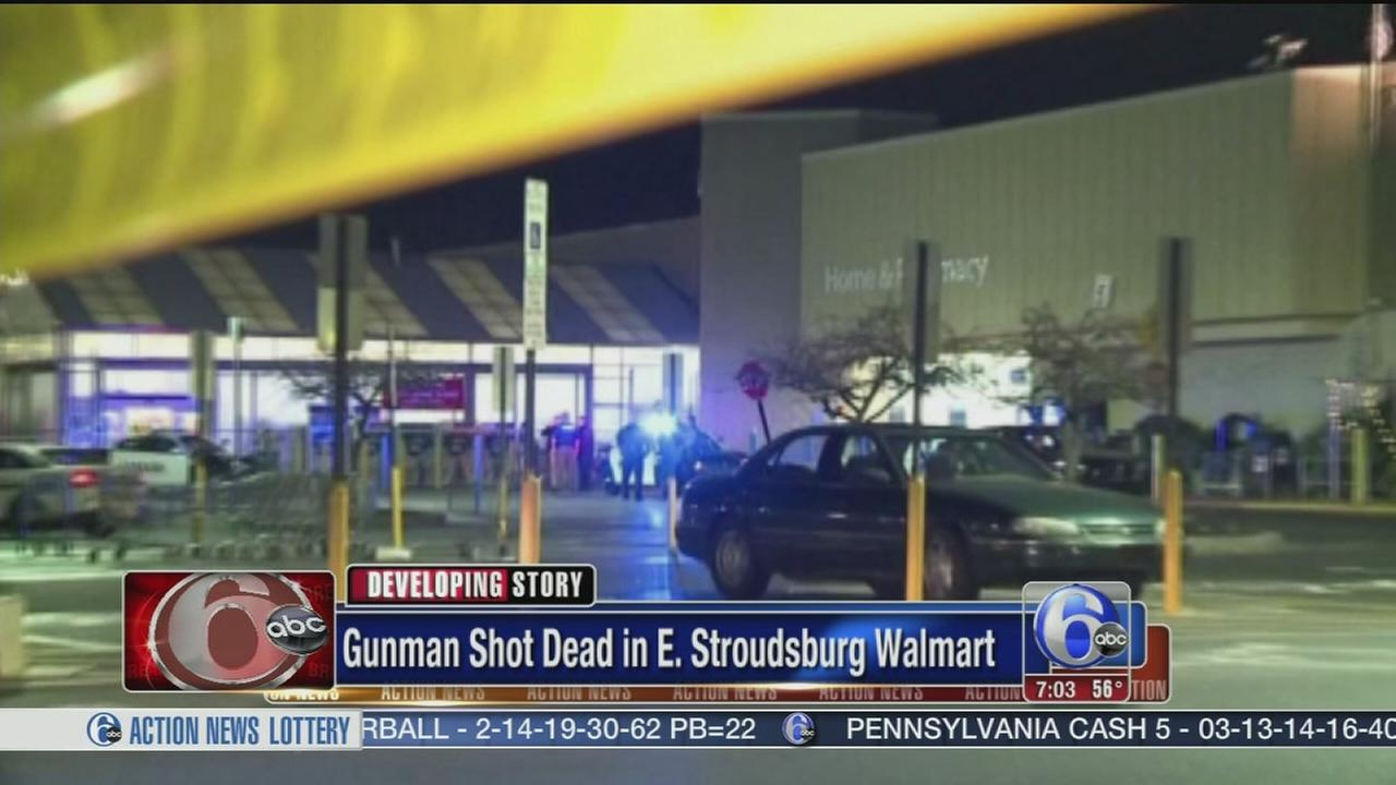 VIDEO: Machete-wielding gunman at Walmart