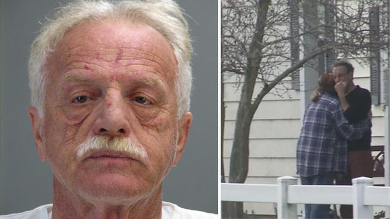 VIDEO: Double stabbing arrest