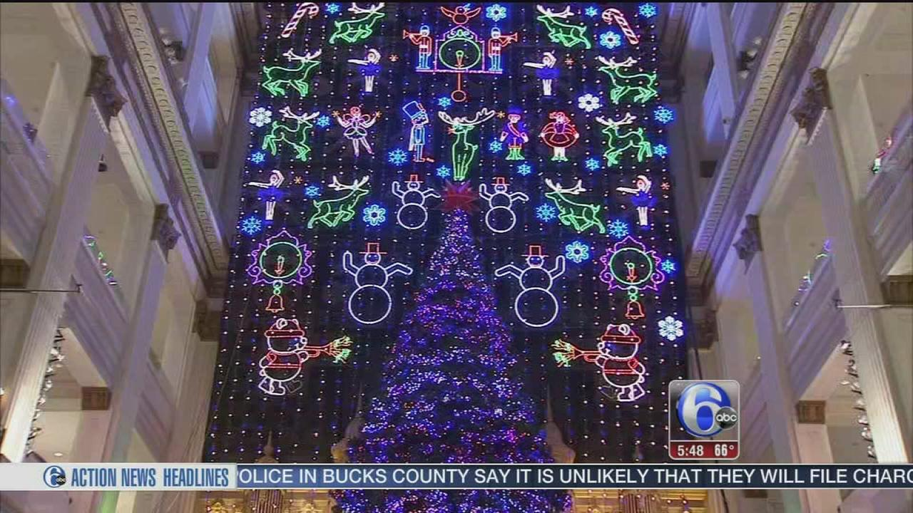 VIDEO: Macys light show