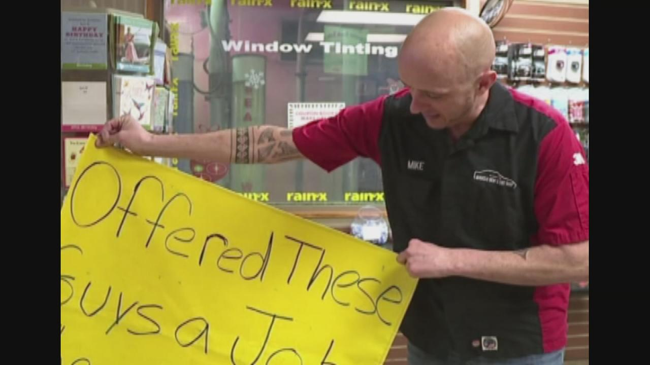 VIDEO: Man shames panhandlers who twice rejected his job offers