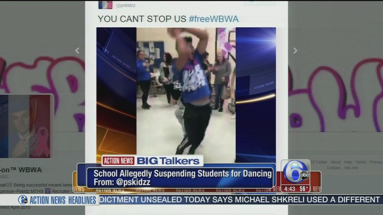 VIDEO: Students suspended for dancing?