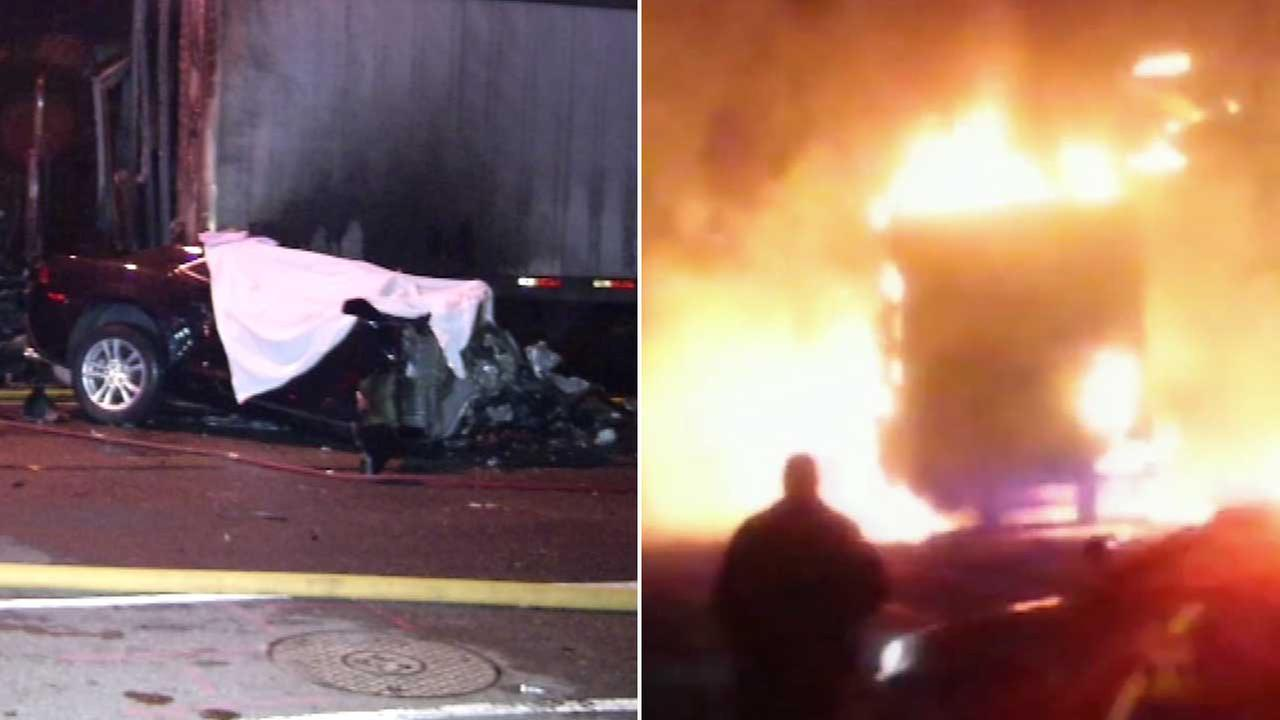 3 killed in fiery crash on Torresdale Avenue in Holmesburg