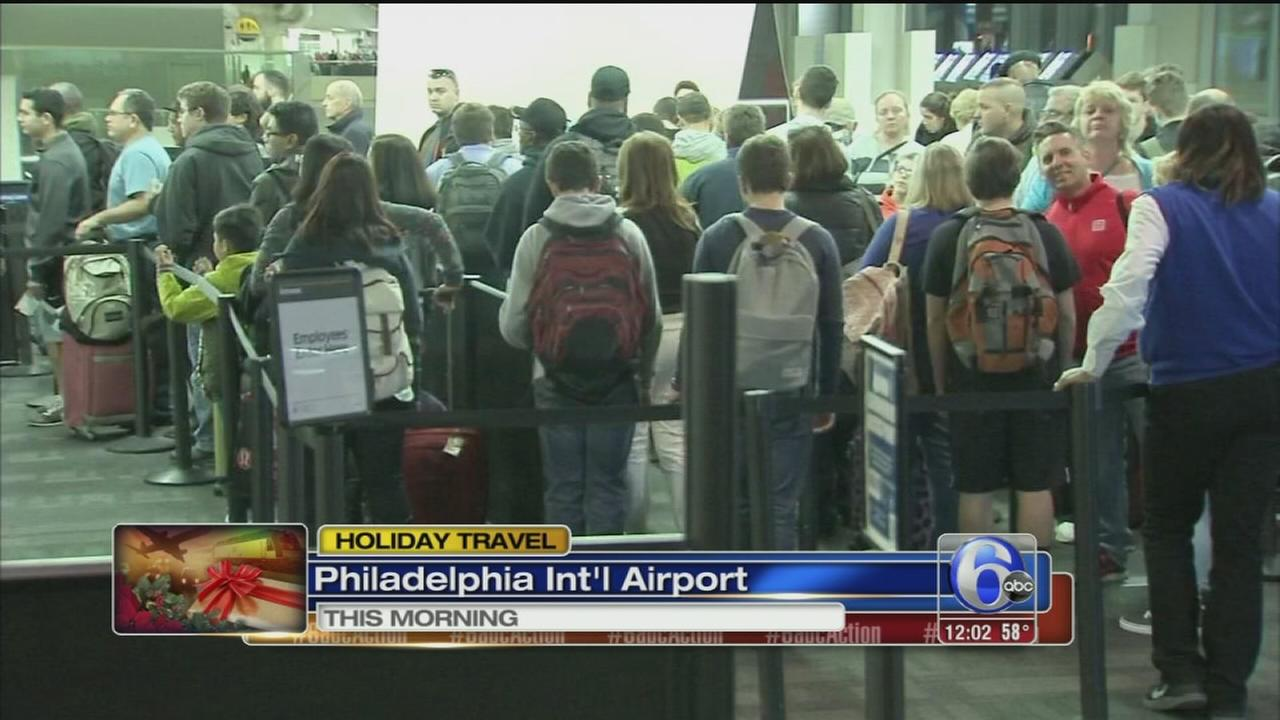 VIDEO: Holiday travel rush underway