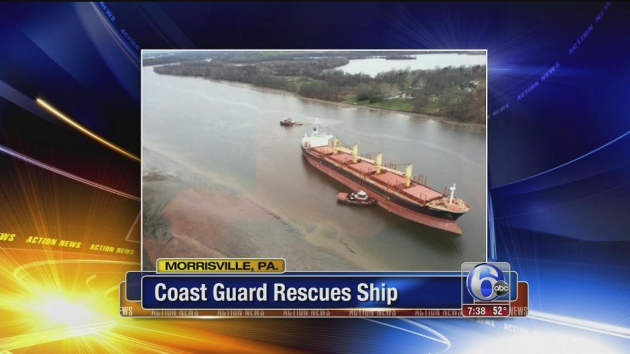 VIDEO: Coast Guard rescues ship