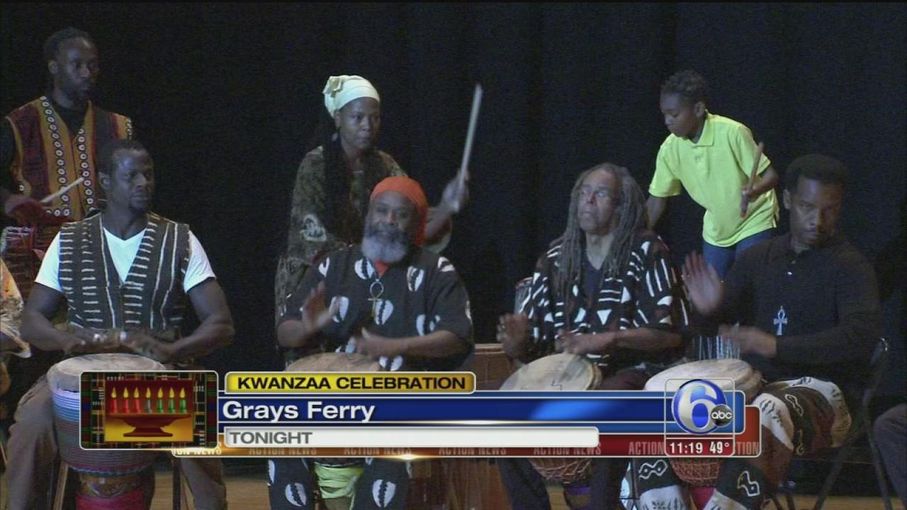 VIDEO: Kwanzaa celebration