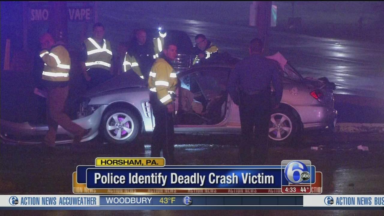 VIDEO: Victim identified in fatal Horsham crash