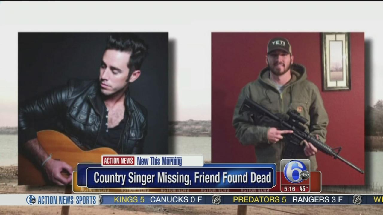VIDEO: Country singer missing, friend found dead