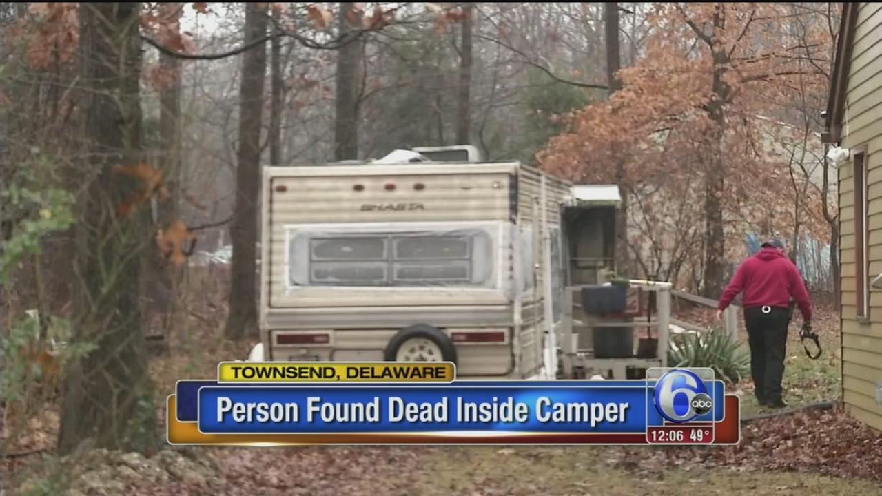 VIDEO: Man killed in camper fire