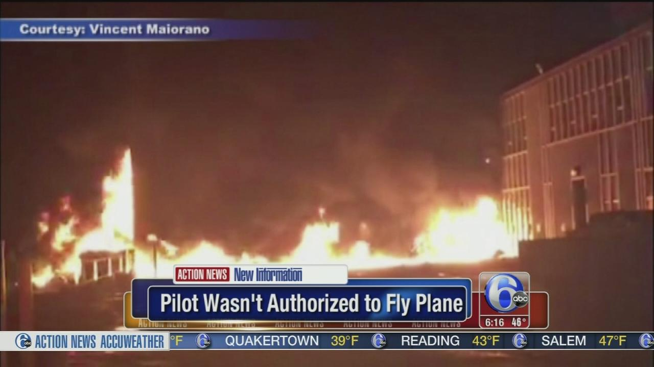 VIDEO:  Pilot killed in Alaska crash wasnt authorized to fly plane