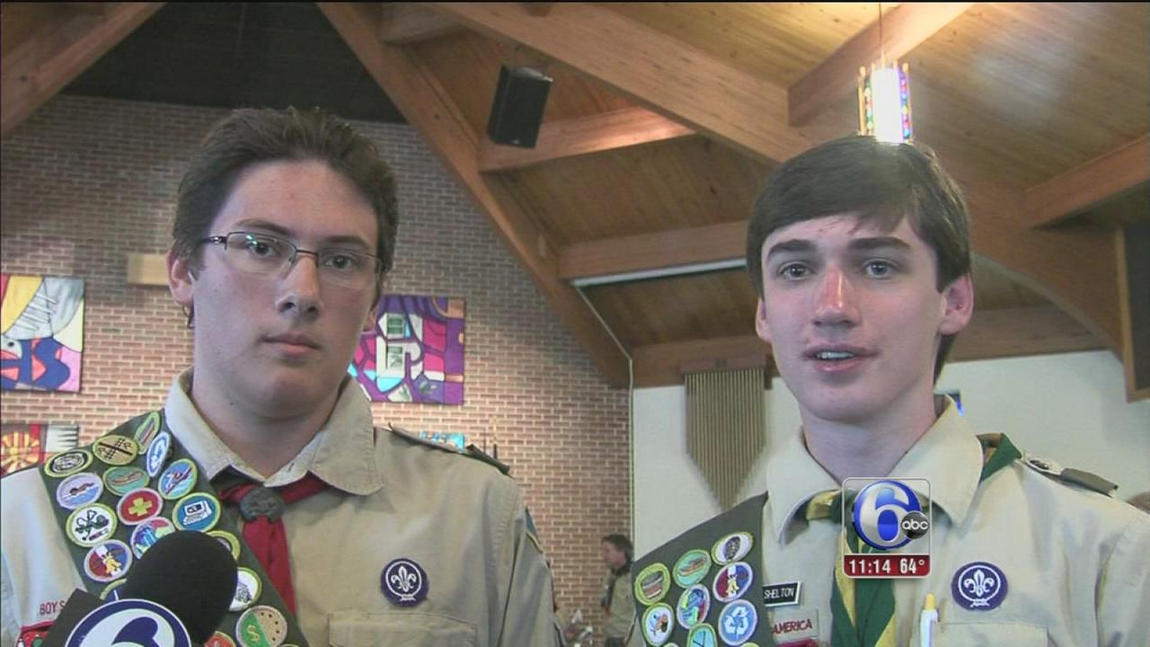 VIDEO: Boy Scouts in King of Prussia awarded for heroism