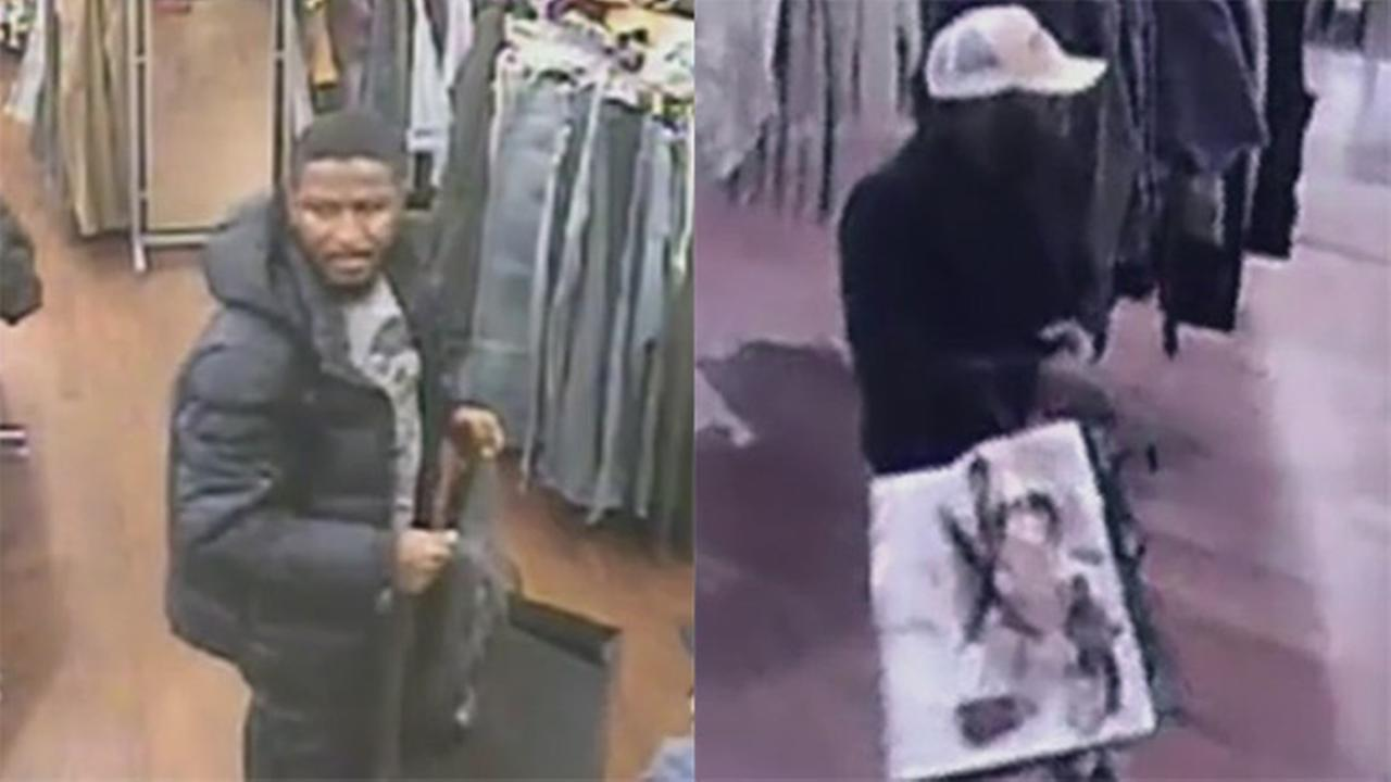 Surveillance released in 2 Rittenhouse Square robberies