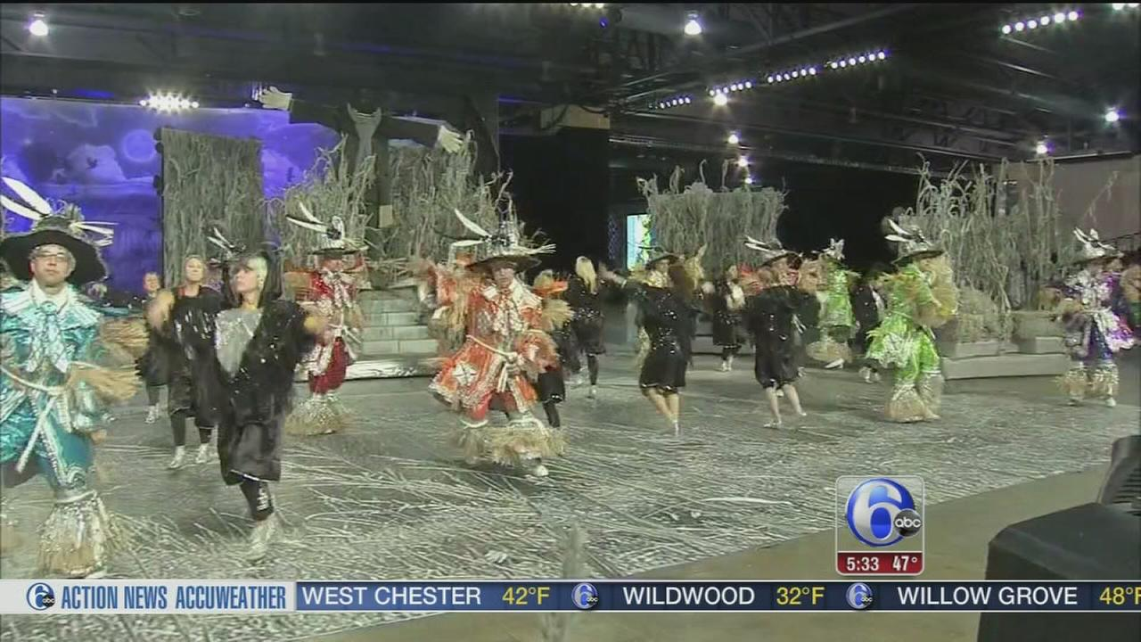 VIDEO: Mummers Day Parade prep