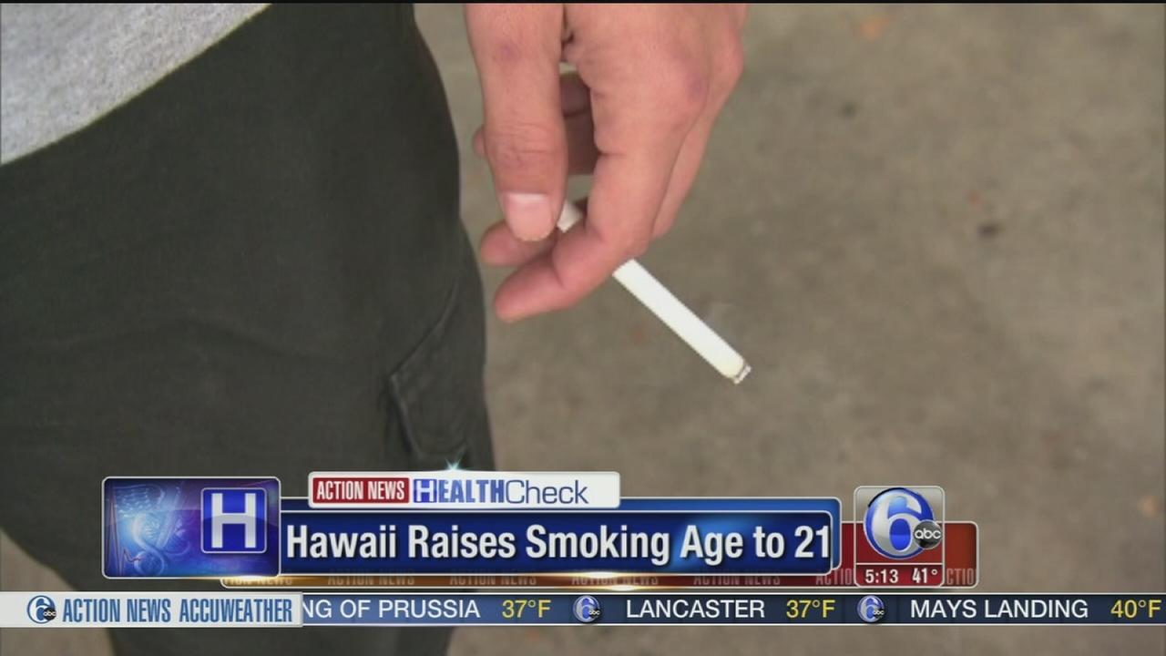 VIDEO: Hawaii raises smoking age to 21