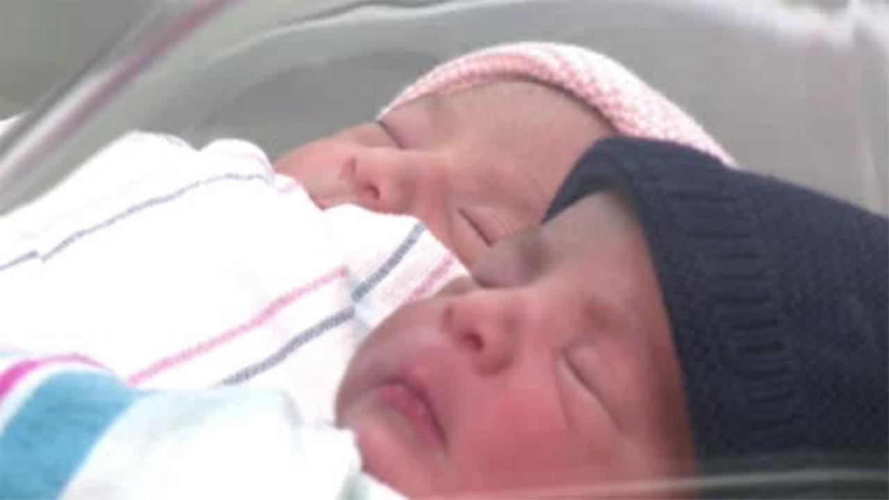 California twins born in different years