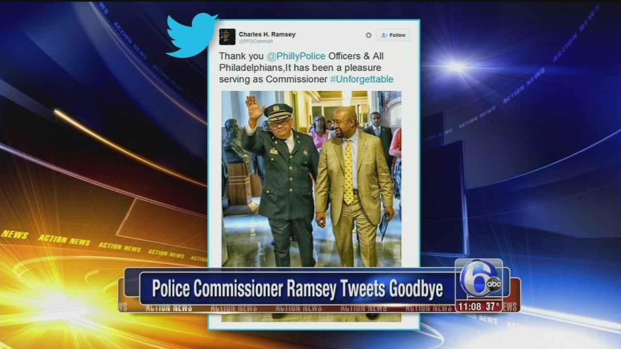 VIDEO: Ramsey tweets goodbye