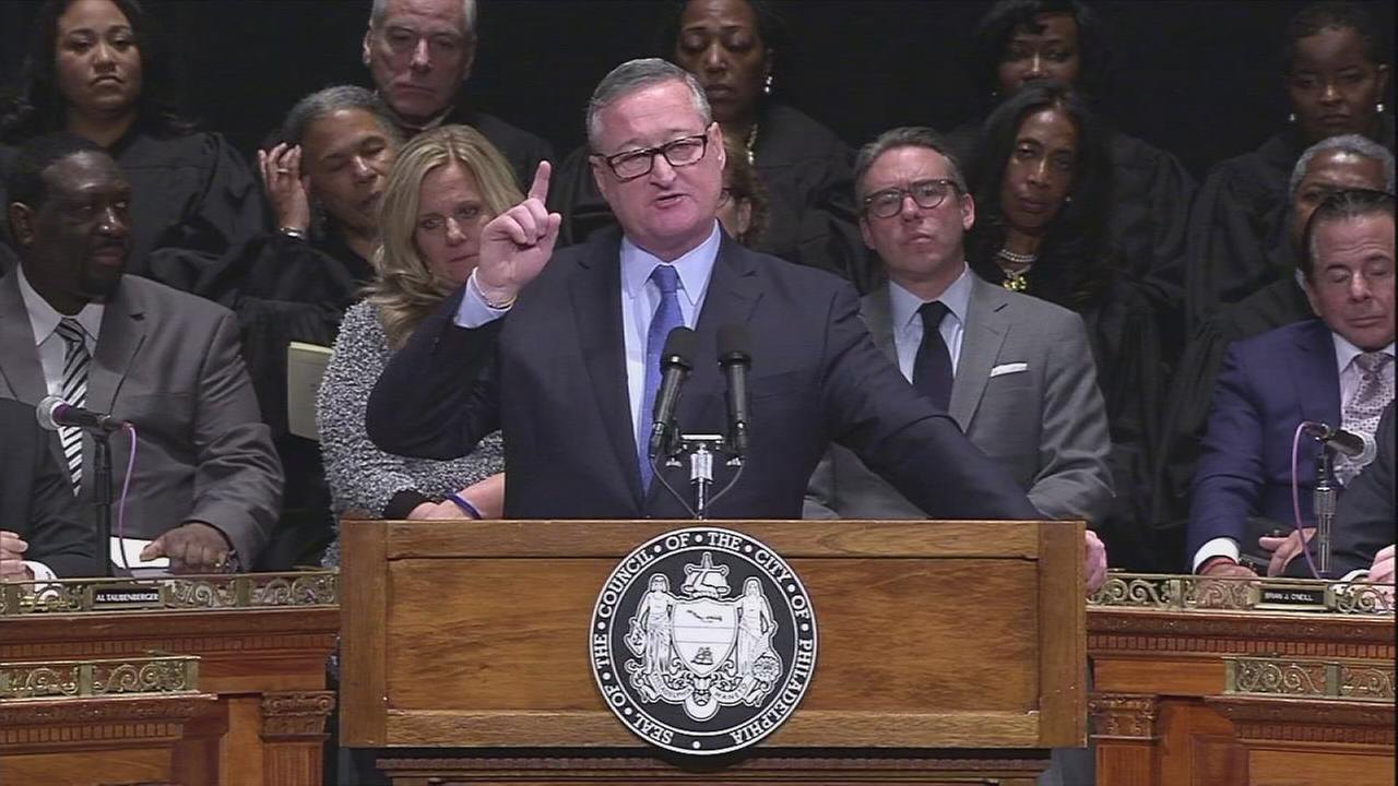 RAW VIDEO: Mayor Kenney inaugural speech