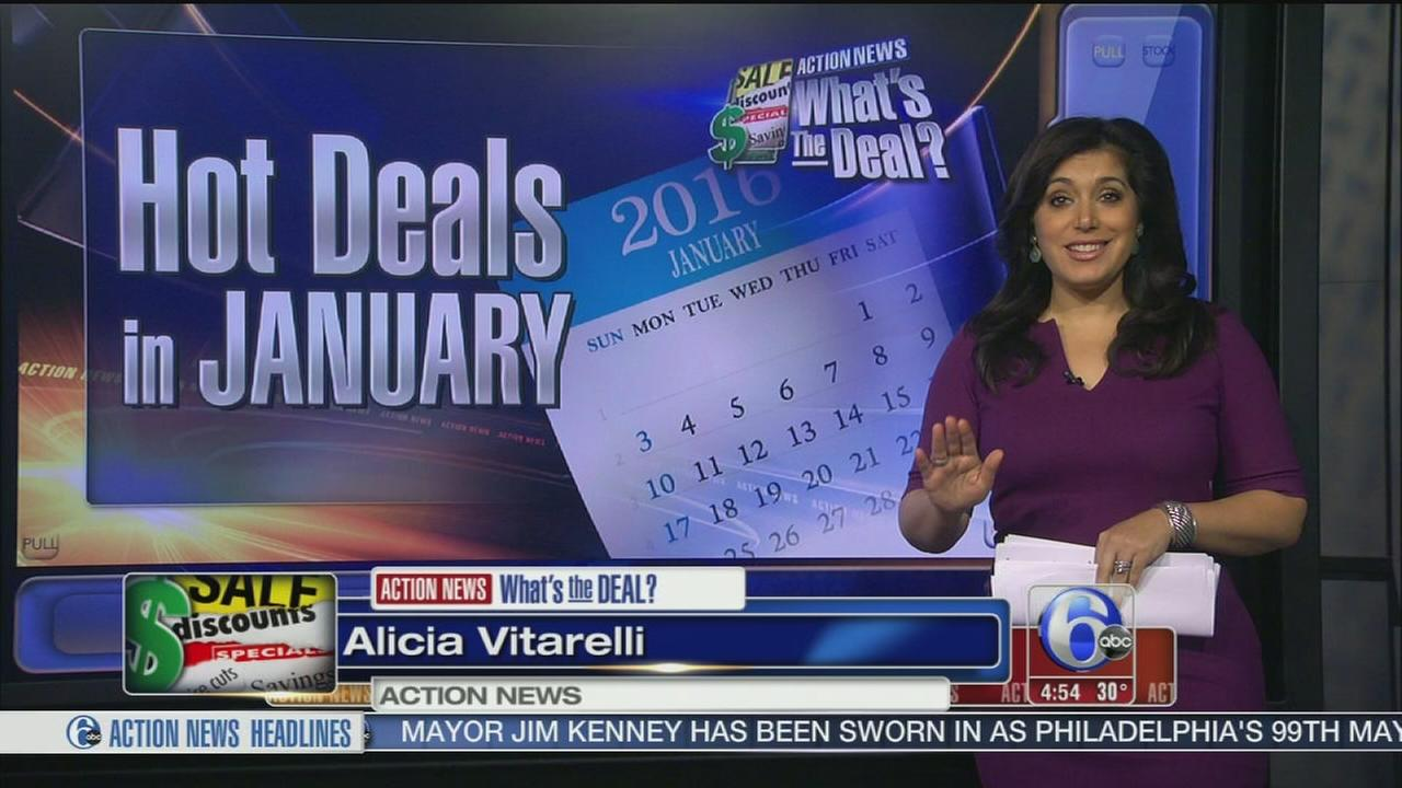 VIDEO: Hot deals in January