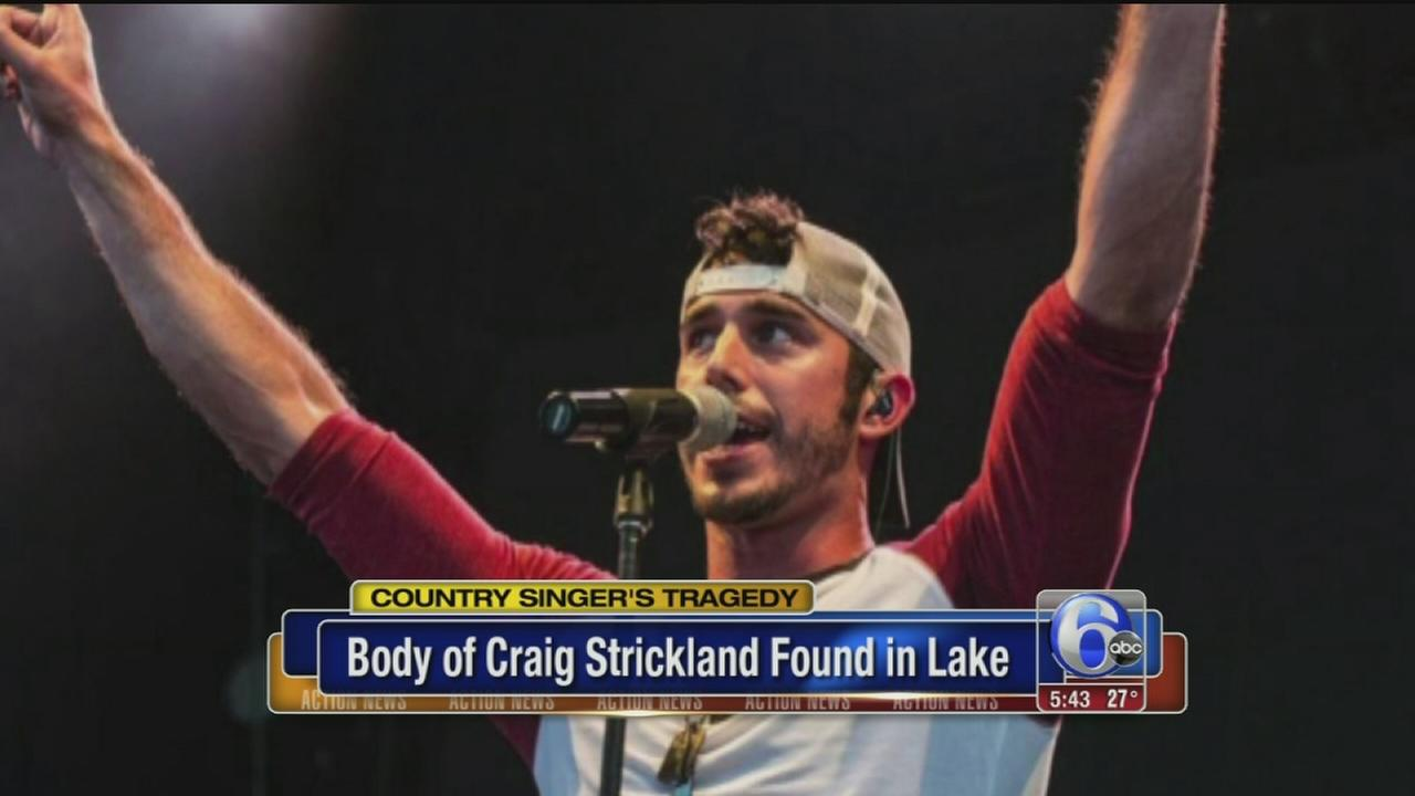 VIDEO: Body of country singer found in lake