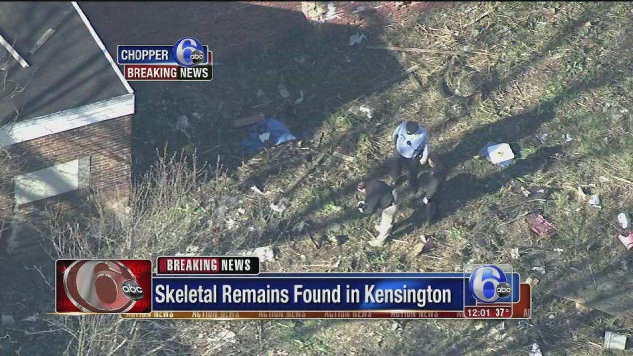VIDEO: Skeletal remains found in Kensington