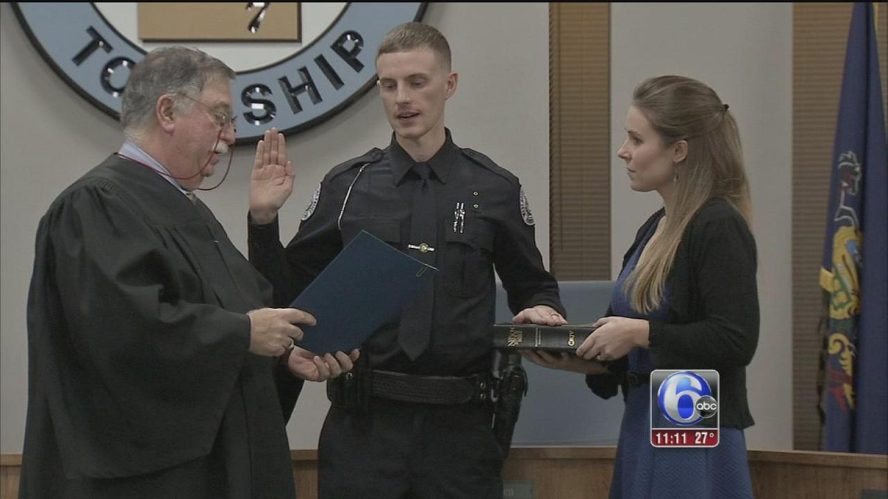 VIDEO: WEst Goshen Twp. swears in new officers