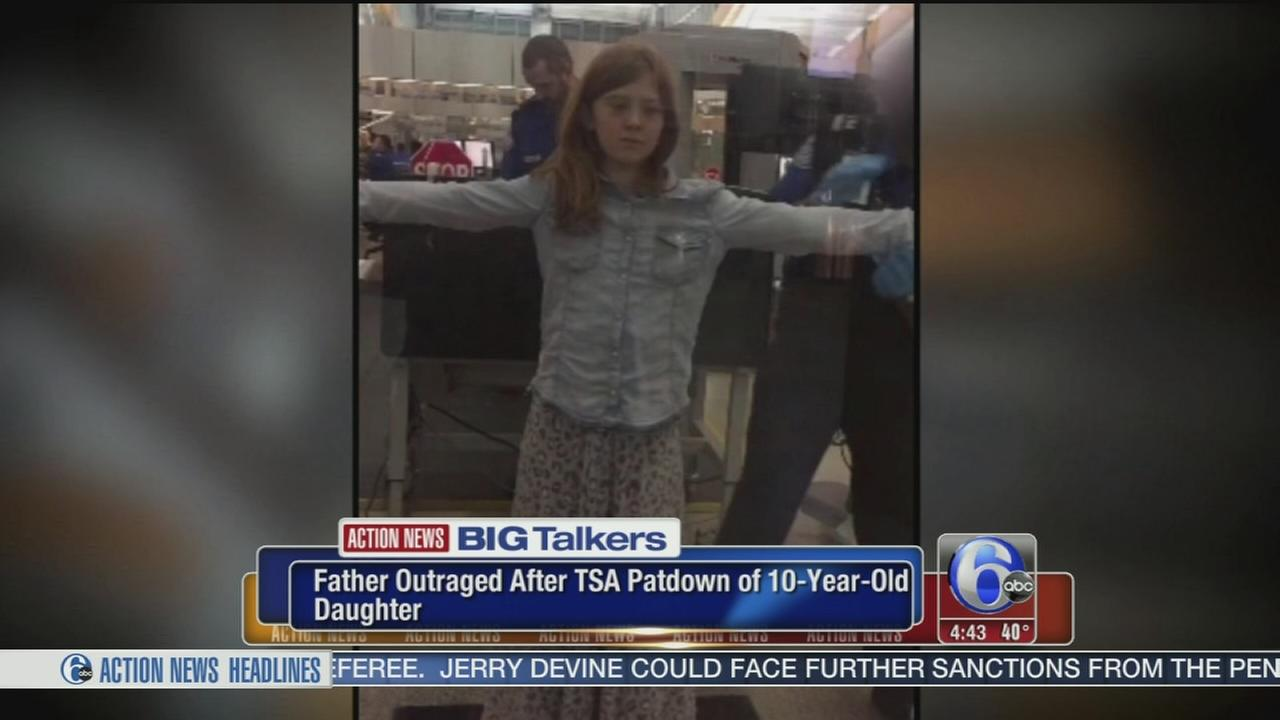 VIDEO: Father outraged after TSA patdown of 10-year-old girl