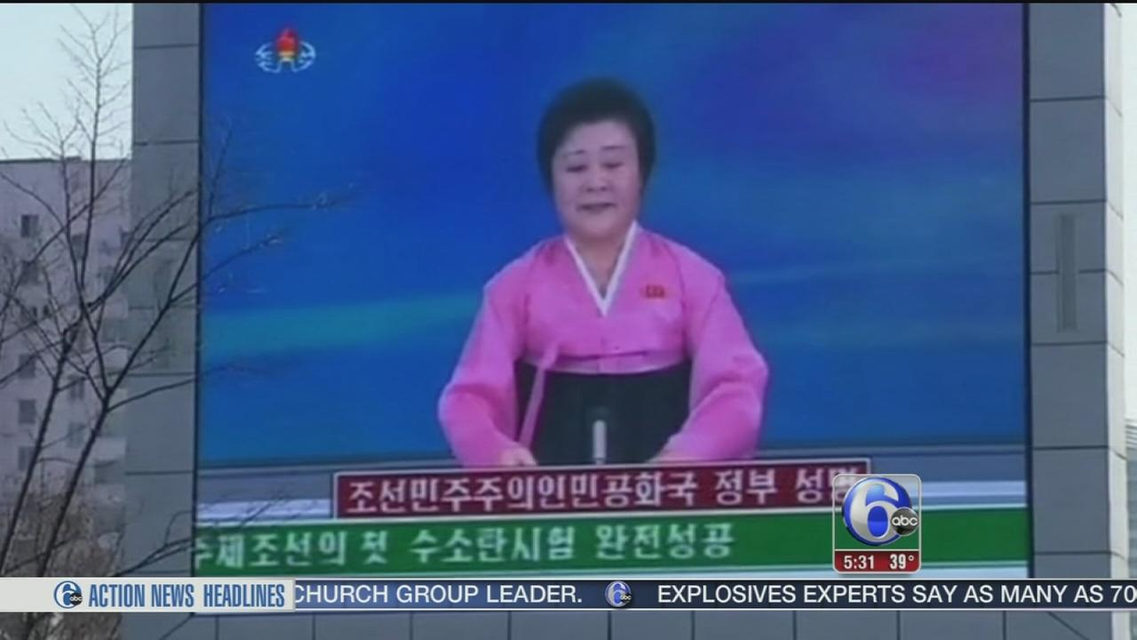 VIDEO: H-bomb test in North Korea in question