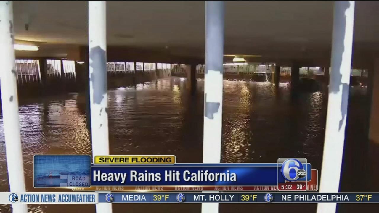 VIDEO: Heavy rains in California