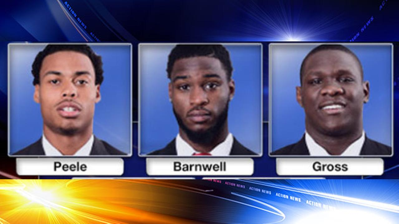 Ex-Rutgers football players arraigned in robberies, assault