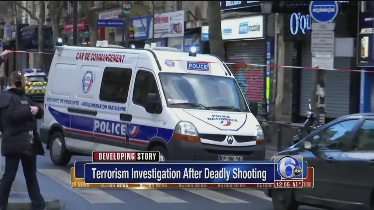 VIDEO: Terror probe after deadly shooting in Paris