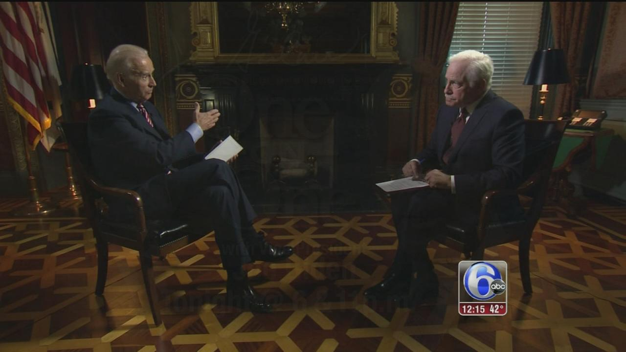 VIDEO: Jim Gardner sits down with Vice President Joe Biden