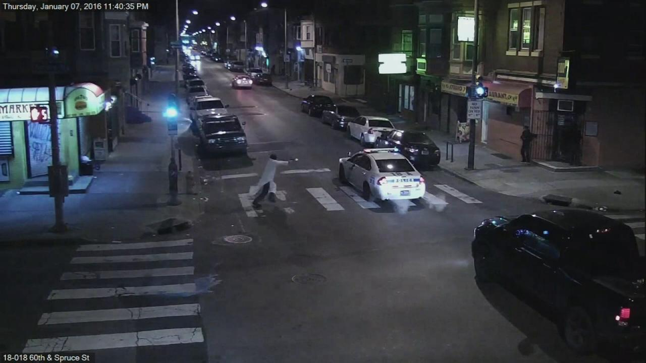 VIDEO: Images of police officer shooting