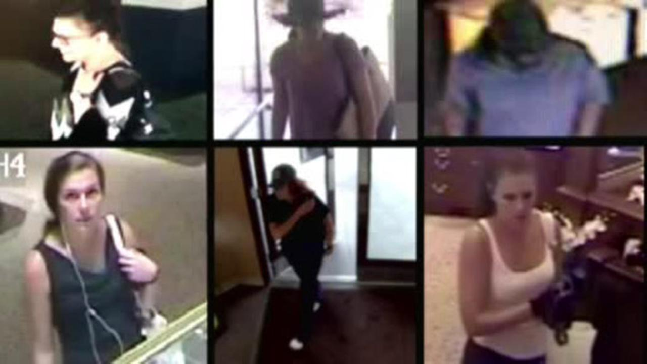 Woman arrested in string of jewelry store robberies across the Southeast