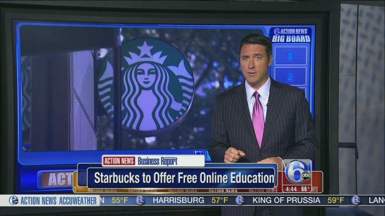 VIDEO: Starbucks offers free college to workers