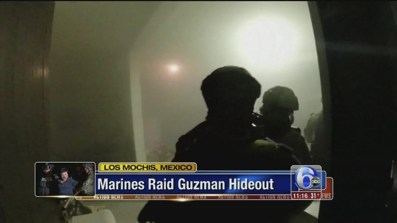 VIDEO: Inside the dramatic raid that took down El Chapo